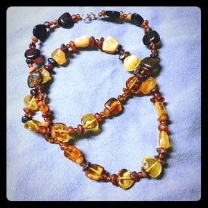 Jewelry - Amber Necklace 22 Inches